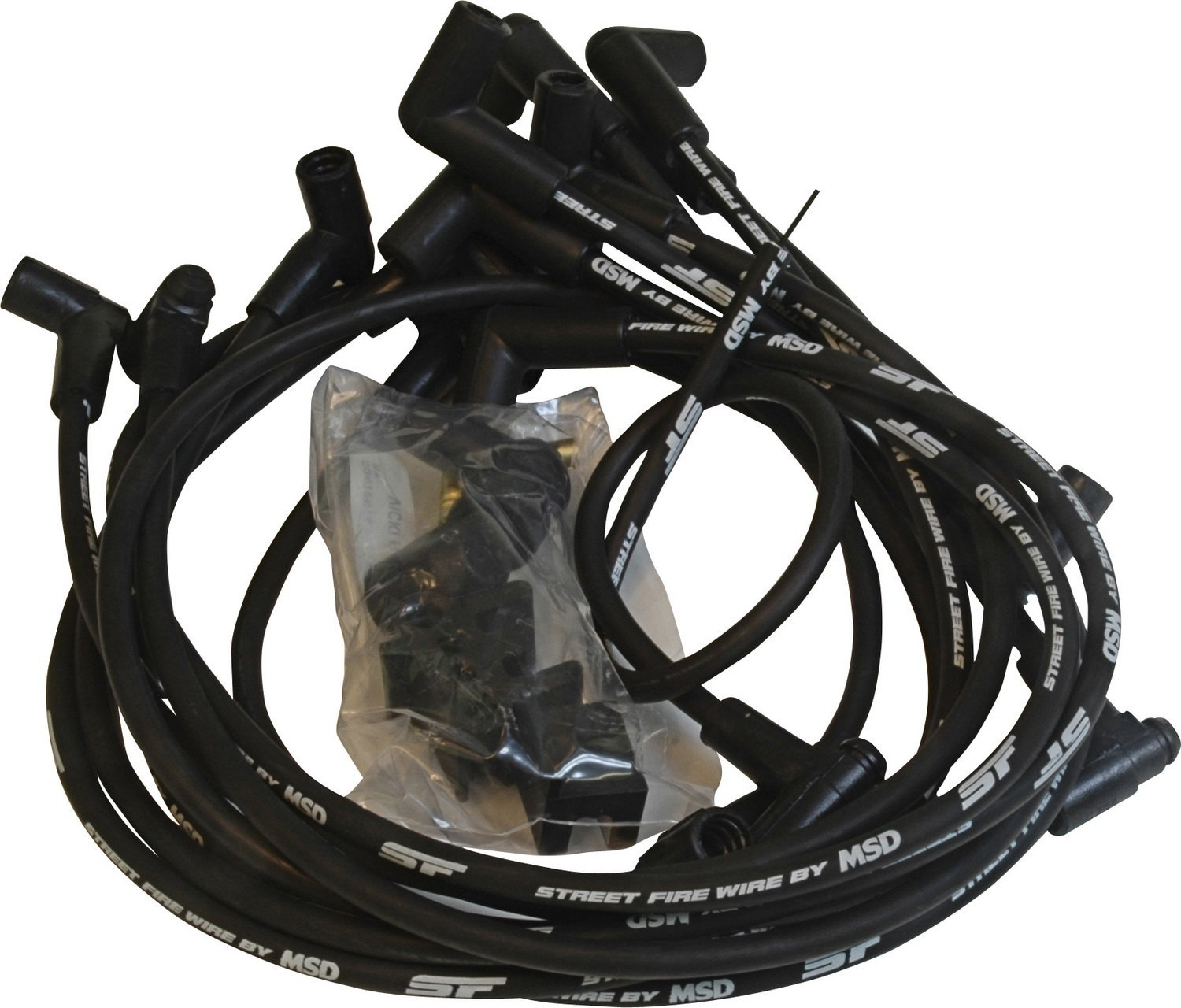 5554 Street Fire Spark Plug Wire Set, Helically wound conductor ...