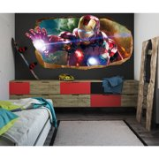 Startonight 3D Mural Wall Art Photo Decor The Power of Light Amazing Dual View Wall Murals Wallpaper for Bedroom Movies Large 47.24 ?? By 86.61 ??