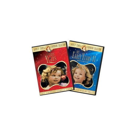 Shirley Temple: The Early Years: Volumes 1 and Volume 2 (Nickelodeon Show Legends Of The Hidden Temple)