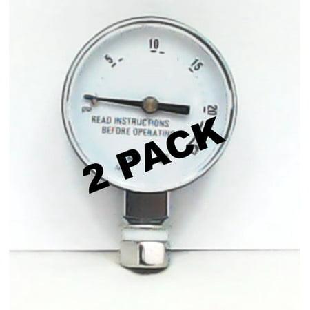2 Pk, Presto Pressure Cooker Steam Gauge, 85772