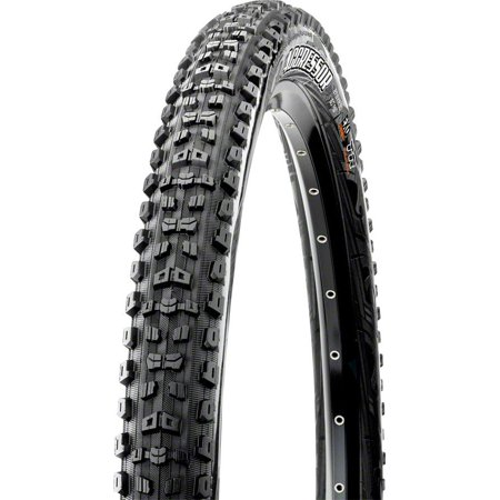 Maxxis Aggressor 27.5 x 2.3 Tire, Folding, 60tpi, Dual Compound, EXO, Tubeless Ready, Black