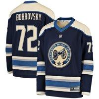 Sergei Bobrovsky Columbus Blue Jackets Fanatics Branded Youth Alternate Replica Player Jersey - Navy