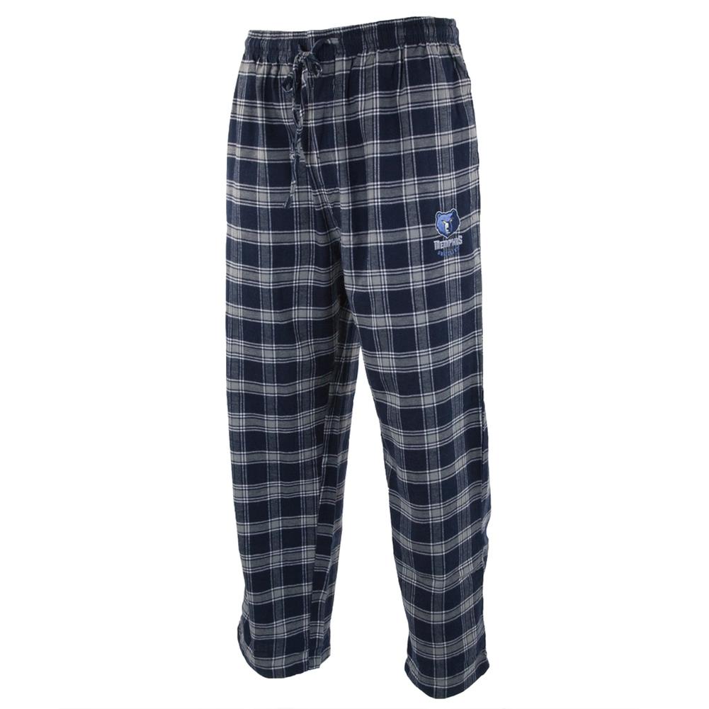Memphis Grizzlies - Logo Plaid Lounge Pants - X-Large