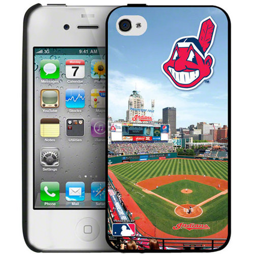 Iphone 4/4S Hard Cover Case - Cleveland Indians Cleveland Indians PANGBBCLEIP4BP