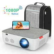 """FANGOR Performance 701 Native 1080P Full HD Video Projector,Full Sealed Design Projector,WiFi Projector/±45°Electronic Keystone/300""""Display/50% Zoom,Support 4K,Ideal For Home Theater/Business Use - Best Reviews Guide"""