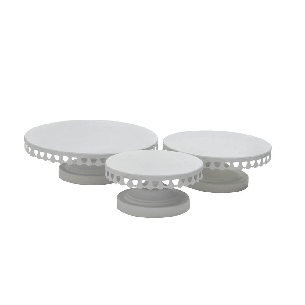 3-Pc Round Metal Cup Cake Stand  sc 1 st  Walmart.com & 3-Pc Round Metal Cup Cake Stand - Walmart.com