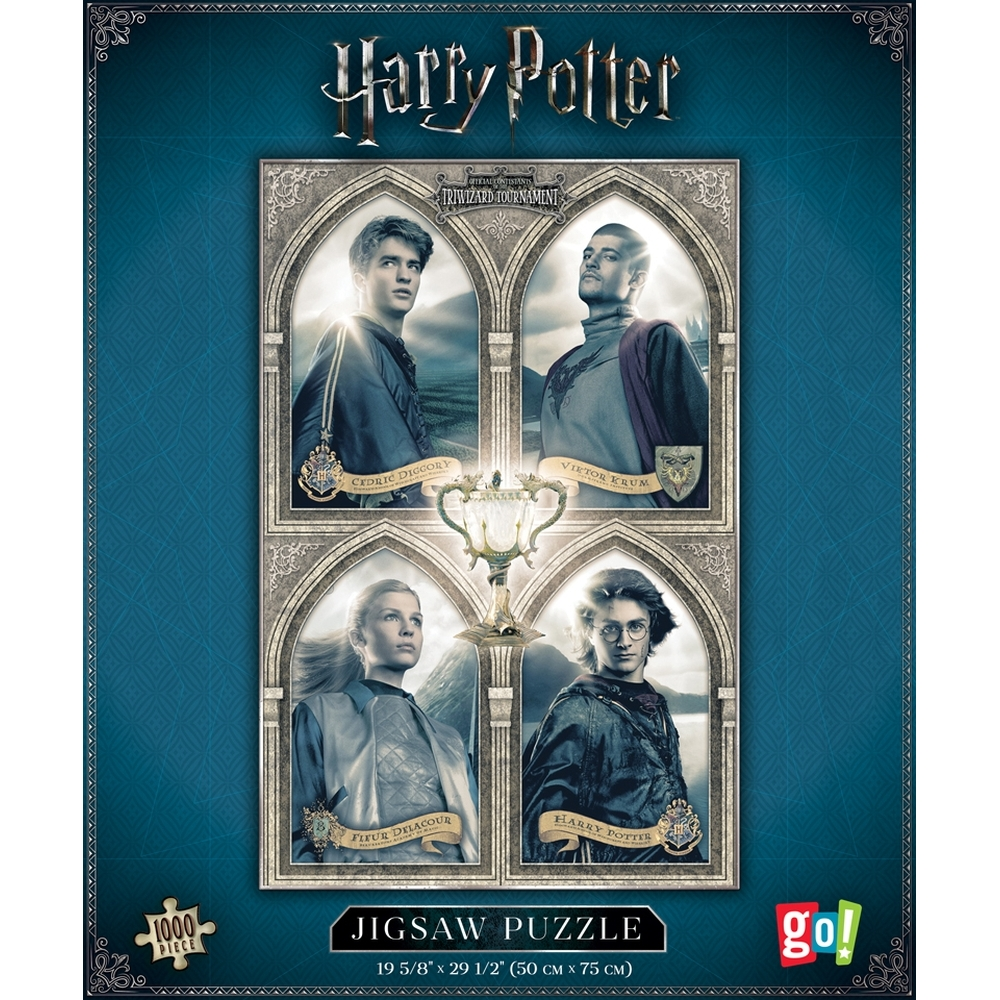 Harry Potter Triwizard 1000 Piece Puzzle,  Harry Potter by Go! Games