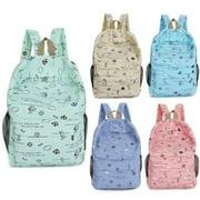 Newest Hot Toddler Kid Child Boy Girl Cartoon Floral Backpack School Bookbag Rucksack Travel Shoulder Bag