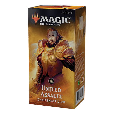 Magic: the Gathering Challenger Deck - United Assault- 2019 MTG Challenger Deck (Magic The Gathering Blue Green Deck Standard)