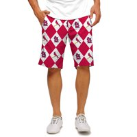 St. Louis Cardinals Loudmouth Shorts - Red/White