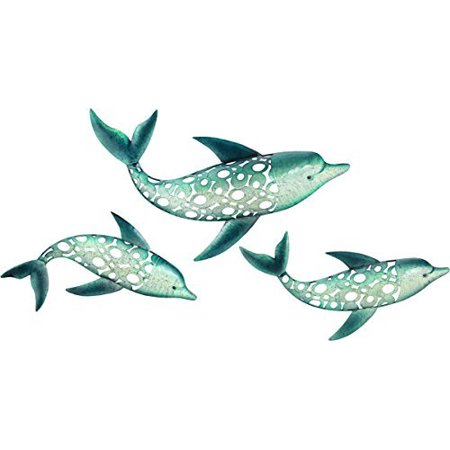 Regal Art  and  Gift 10134 - Dolphin Wall Decor Set/3 Home Decor Animal Figurines
