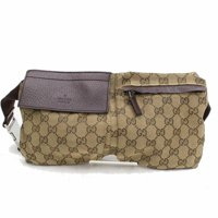 ba4ff1d2aafb1 Product Image Monogram Gg Waist Pouch Fanny Pack 868298 Brown Canvas Cross  Body Bag