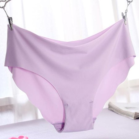 Outtop Women Invisible Underwear Thong Cotton Spandex Gas Seamless Crotch PP L