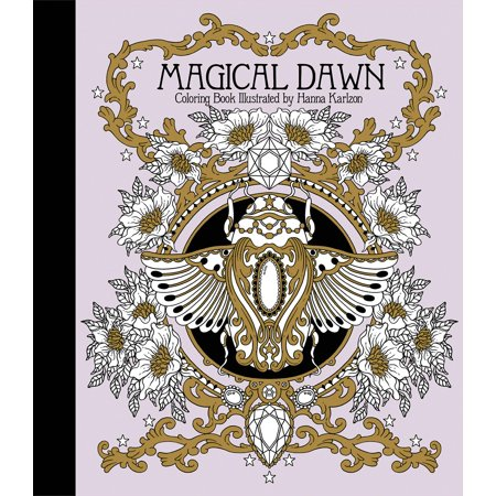 Magical Dawn Coloring Book : Published in Sweden as