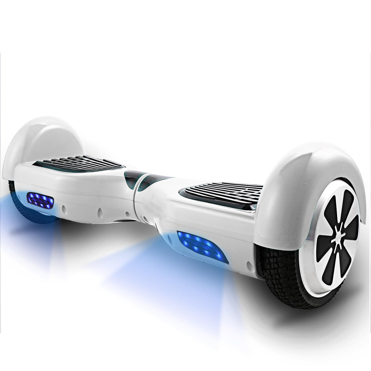 Smart Self Balance Scooter Motorized 2 Wheel Self Hover Balance Board All-Terrain Tires Personal Hover... by