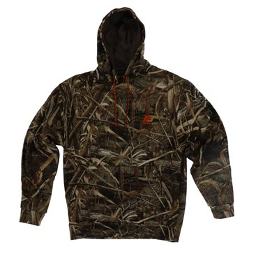 Mens Large Jacket Size Chart (Pursuit Gear Stealth Hoodie Men's Jacket RealTree Max-5 Camo Pattern -)