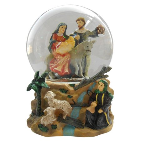 Northlight Musical Holy Family Christmas Nativity Water Globe
