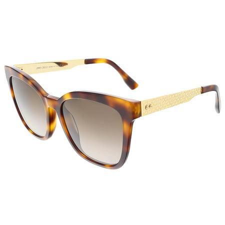 Jimmy Choo  JUNIA/S 0BHZ Havana Square (Dragon Havana Sunglasses)