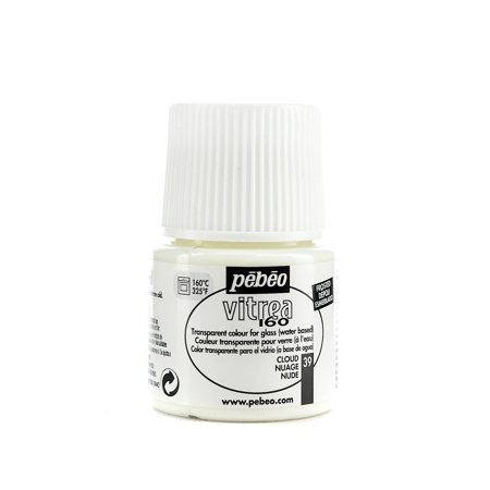 Vitrea 160 Glass Paint cloud, frosted, 45 ml (pack of 3) (Frosted Glass Paint)