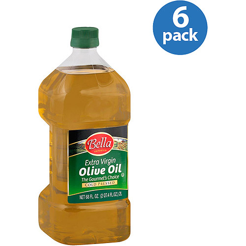 Bella Extra Virgin Olive Oil, 68 oz, (Pack of 6)