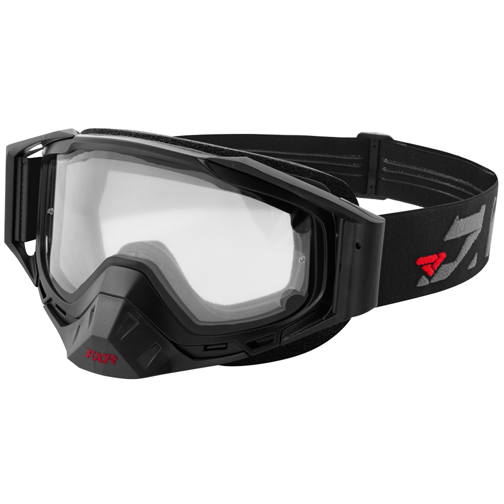 FXR Core Clear Goggle Authentic Windproof Polycarbonate Lens Snowmobile OSFA by FXR