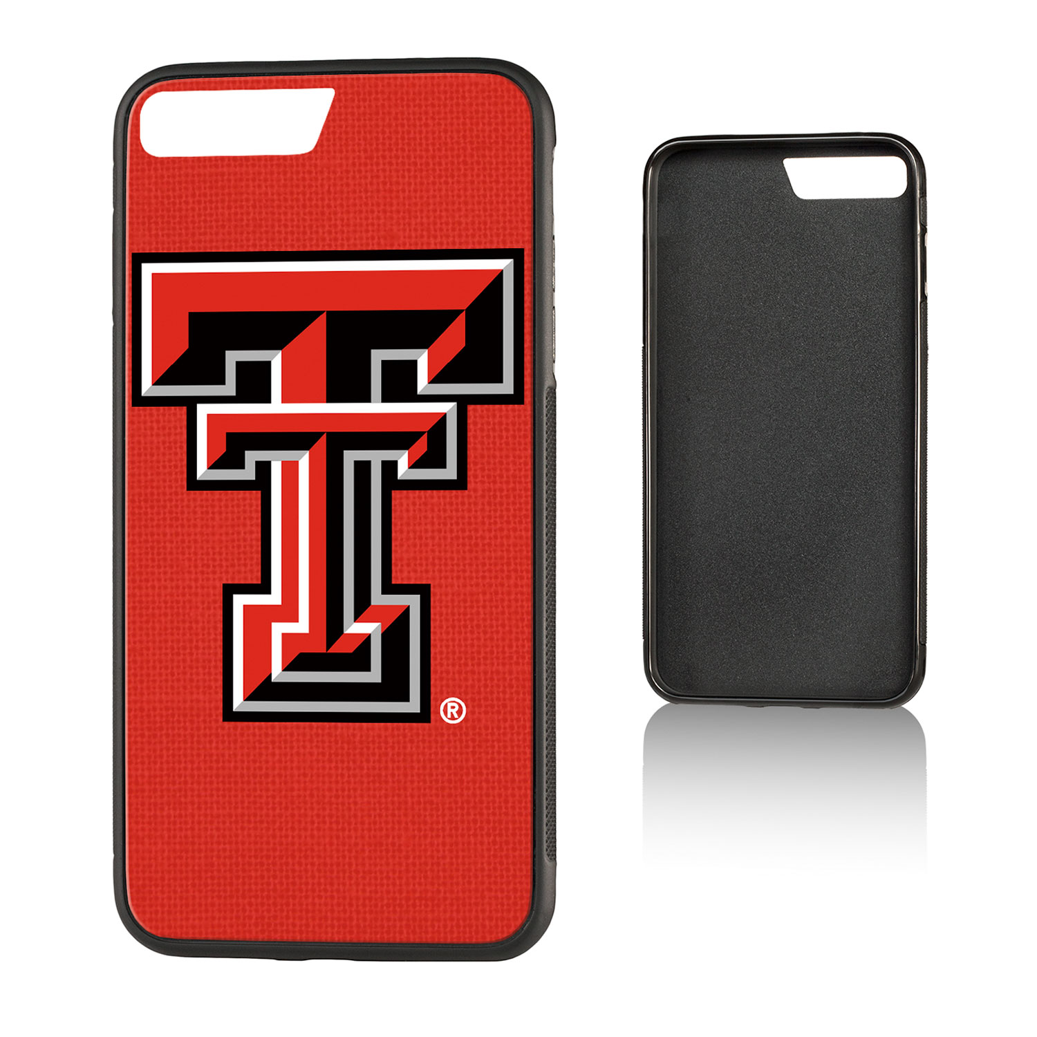 TT Texas Tech Red Raiders Solid Bump Case for iPhone 8 Plus / 7 Plus