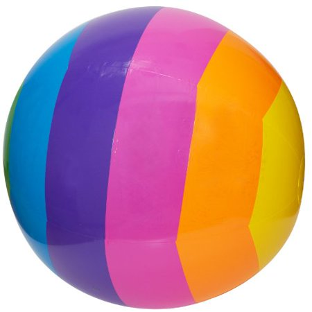 GIANT RAINBOW BEACH BALL - HUGE 32