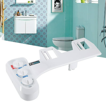 HURRISE  Hot/Cold Bidet Self Cleaning Dual Nozzle Toilet Attachment Spray Non-Electric Bathroom (Best Comfort Seats Bidet Toilet Seats)