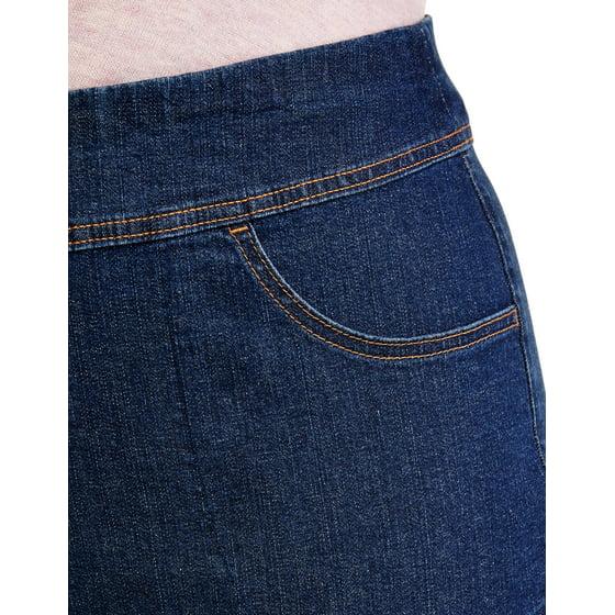 1fc6e7460b1 Terra   Sky - Women s Plus Size 2 Pocket Pull On Pant