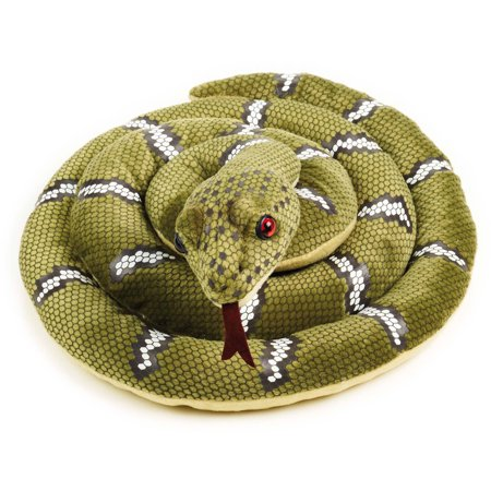 Lelly National Geographic Plush, Green Snake ()