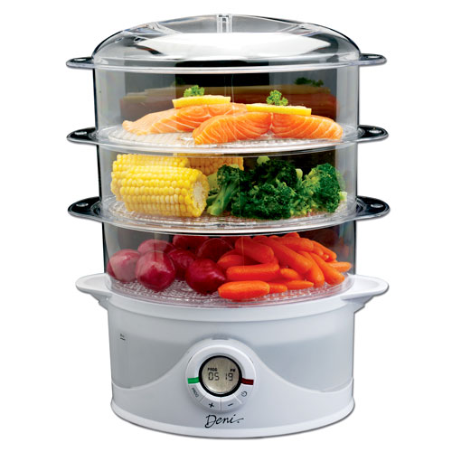 how to use a steamer for food