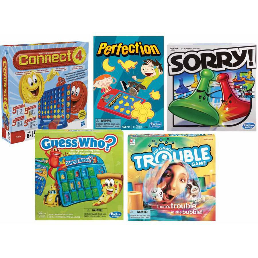 School Specialty Primary Favorite Game Set, Set of 5