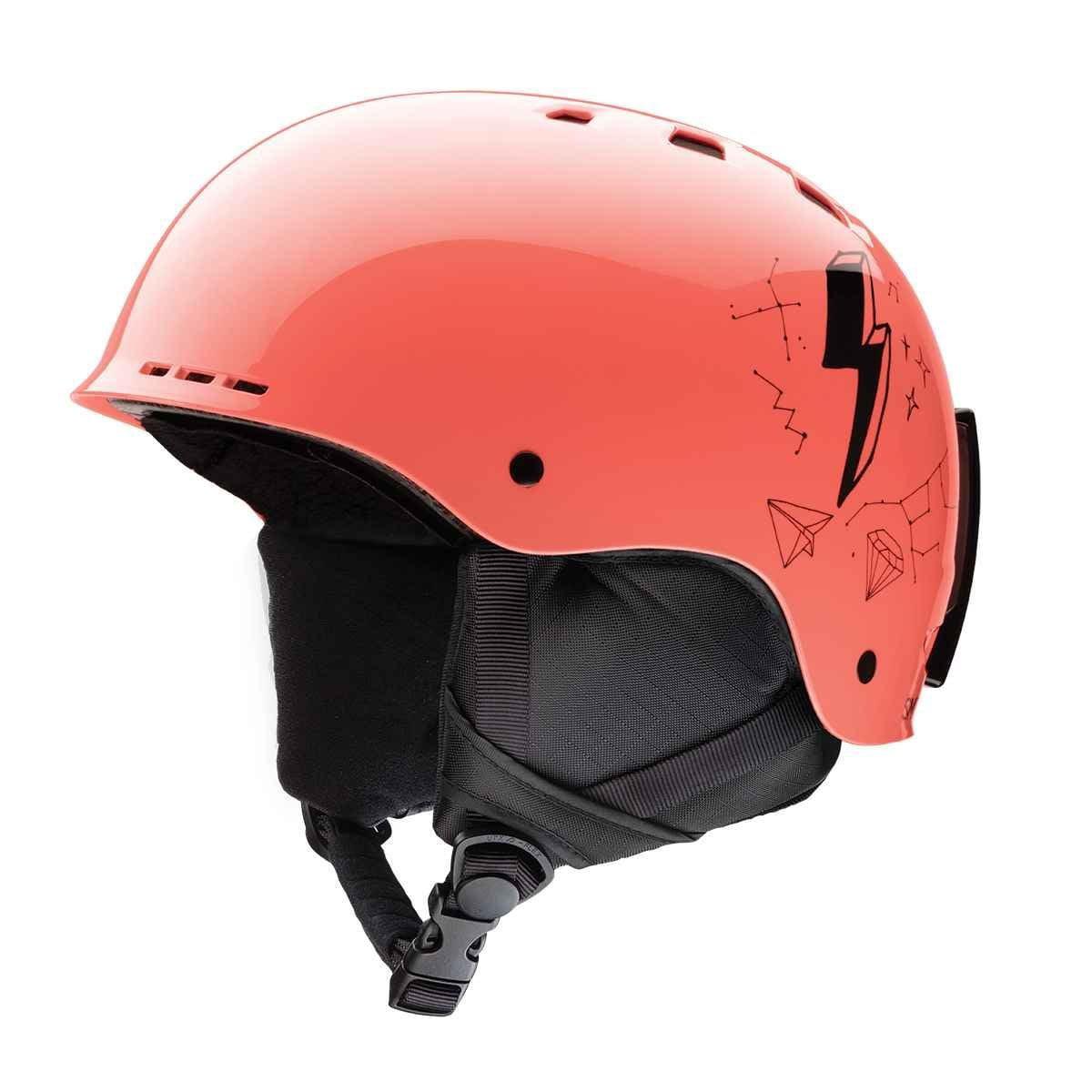 Smith Optics Holt Jr Ski Snow Helmet (Sunburst Doodles Youth Small) by Smith Optics