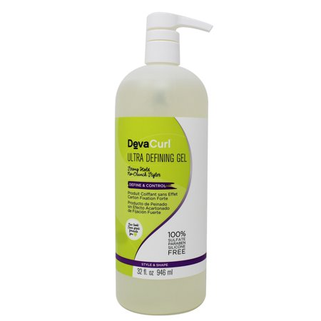 DEVACURL ULTRA DEFINE GEL 32 OZ (Best Curl Defining Products For 4a Hair)