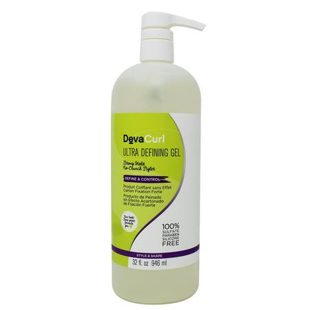 DevaCurl Ultra Defining Hair Gel, 32 Oz (Wella Hair Gel Products)