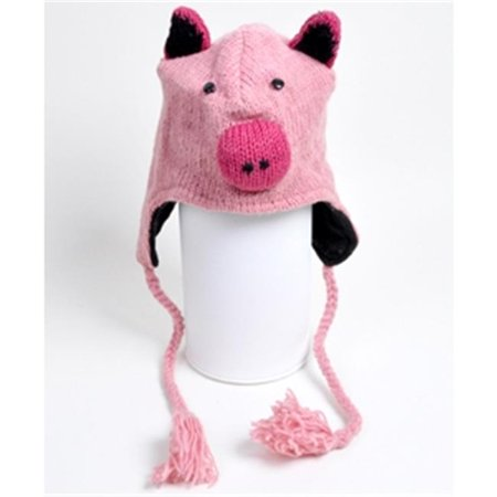Animal Wool Hats Pig - Pig Hat