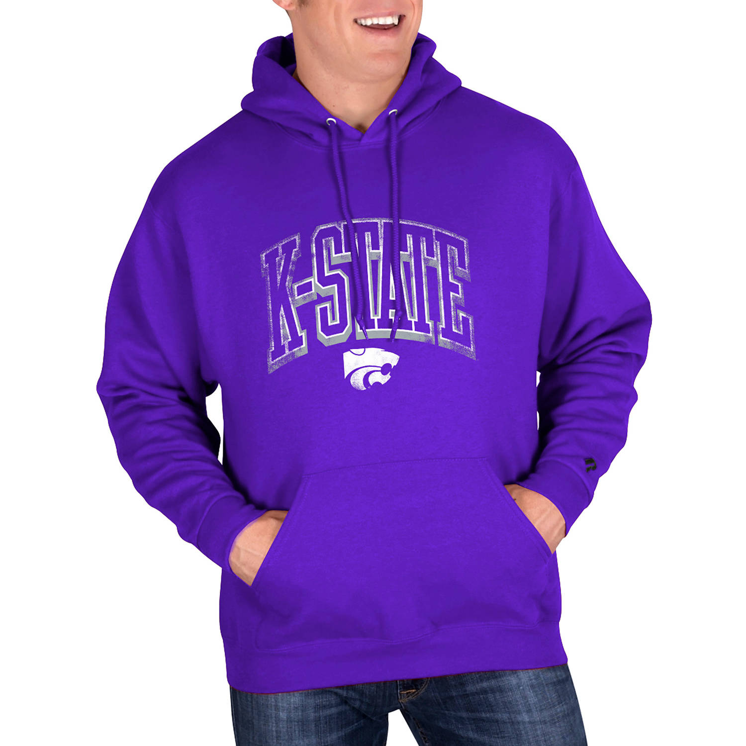 NCAA Kansas State Wildcats Mens Classic-Fit Pullover Hood