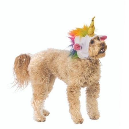 Funny Dog Halloween Photos (Unicorn Hood Pet Costume Dog Cat Halloween  Cosplay Funny Cat Horn)