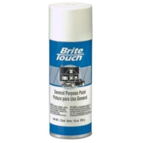 Krylon BT41 Brite Touch Automotive & General Purpose Paint Flat White 10 Oz. Aerosol