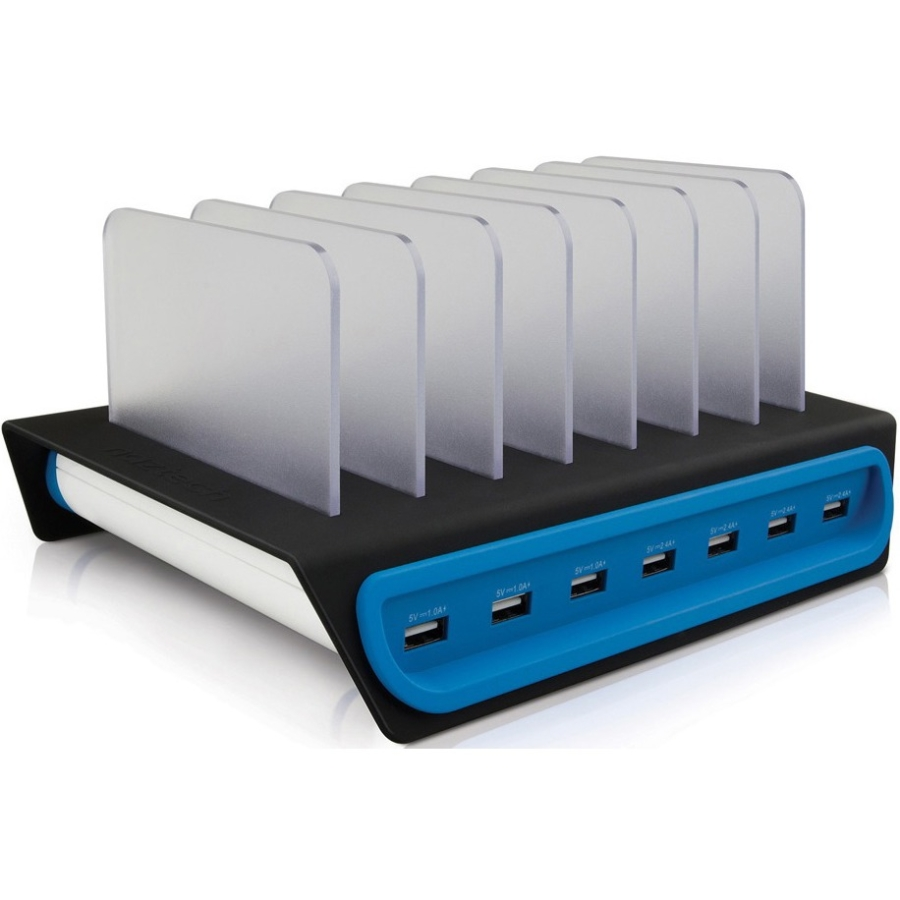 Naztech Power Hub 7 14A/70W 7-Port Charging Dock