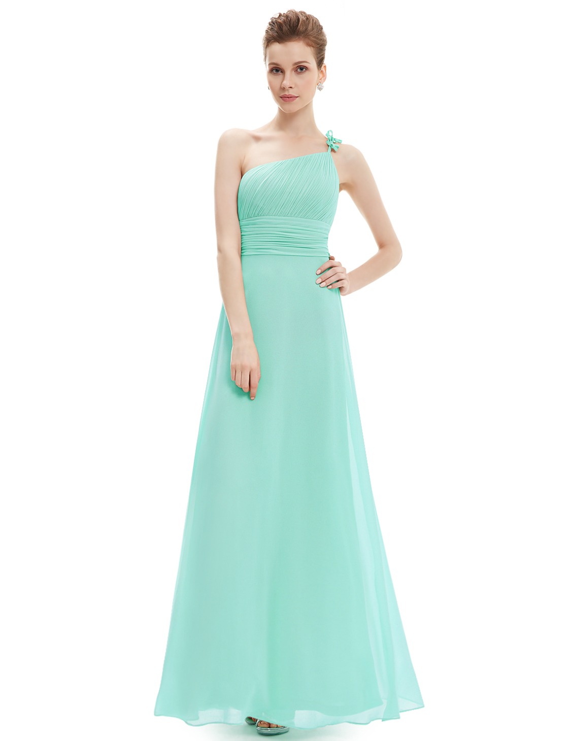 Ever Pretty One Shoulder Bridesmaid Dress Evening Gown 09596 ...