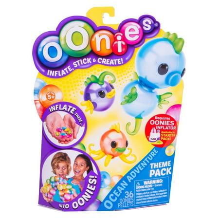 Oonies Season 1 Theme Refill Pack Ocean Kit