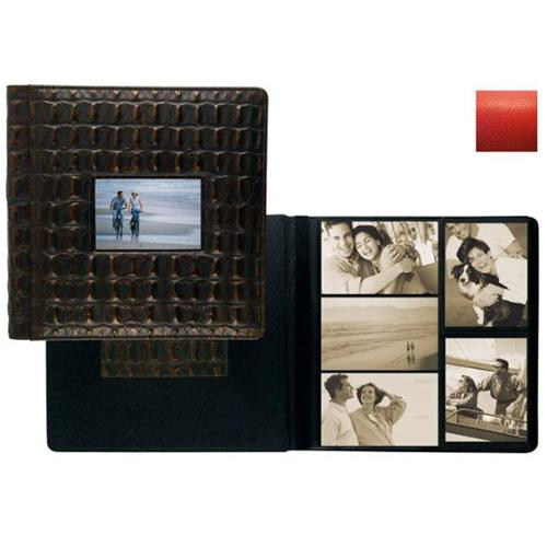 Raika RO 113-D RED Frame Front Scrapbook Album - Red