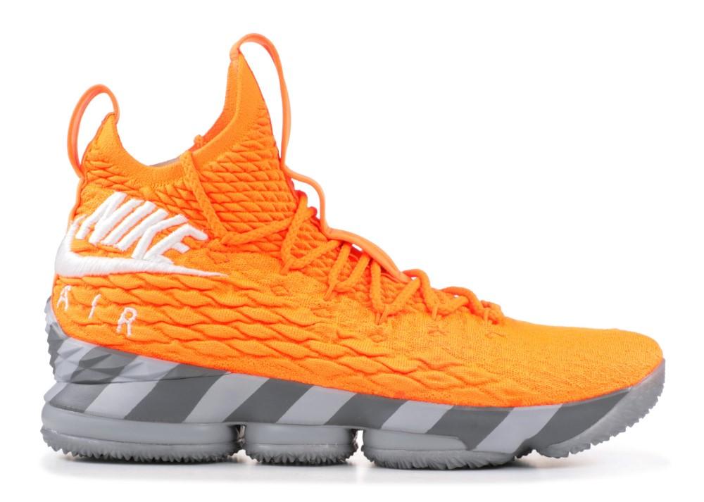 outlet store 20416 8a16c Nike - Men - Lebron 15 Ks2a 'Orange Box' - Ar5125-800 - Size ...