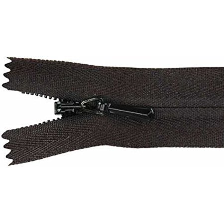 - Unique Invisible Zipper 9 Inch -Black