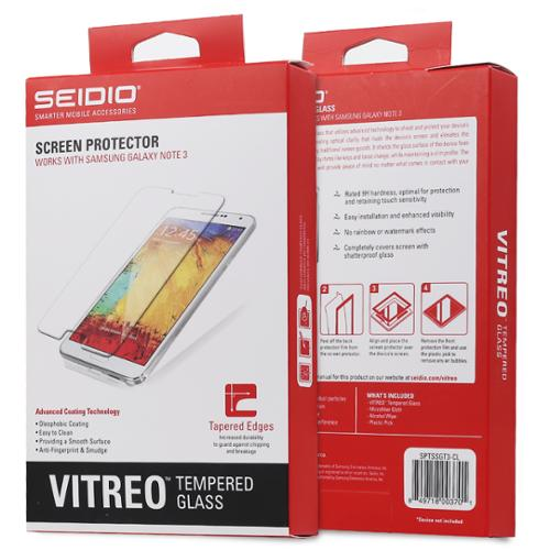 Seidio Samsung Galaxy Note 3/Note III VITREO Tempered Glass Screen Guard