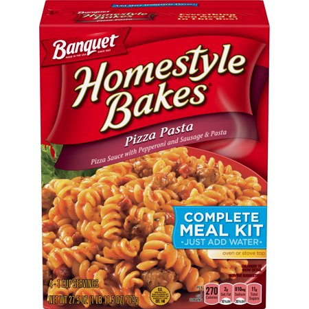 Banquet Homestyle Bakes Pizza Pasta Meal Kit, 27.5