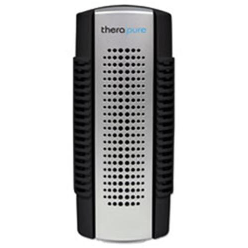 Envion TPP50BLK Therapure Mini Air Purifier, 1-Speed, Black & Silver