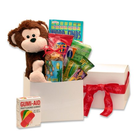 - Gift Basket Drop Shipping Hang In There Get Well Care Package