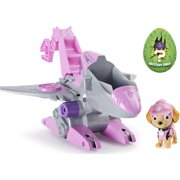 PAW Patrol, Dino Rescue Skye's Deluxe Rev Up Vehicle with Mystery Dinosaur Figure